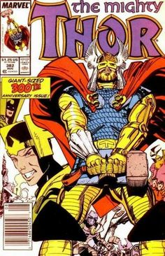 The Mighty Thor #382 (Marvel Comics; 1966 Series).