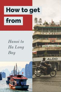 Do you know how to get to Halong Bay? Hanoi is the best place to access the bay from. We have a car, bike, bus, train, plane and tour options for you  Hanoi to Halong Bay | visiting Halong Bay | How to get to Halong Bay | Hanoi to Halong Bay by bus | car to Halong Bay, Bus to Halong Bay | day tour to Halong Bay | seaplane from Hanoi to Halong Bay |  #vietnam #hanoi #travel #cruise #halongbay #seasis #asia #vacation #travel #familytravel #bhaya