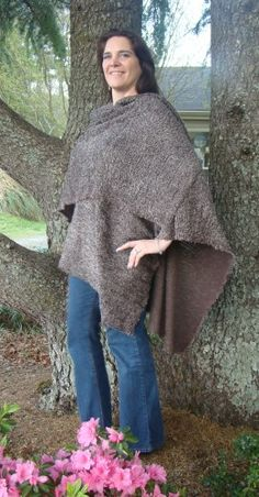 What's not to love about a comfy, cozy wrap?   The Cocoa Delight Boucle Wrap | DonnasDesignsSC - Clothing on ArtFire