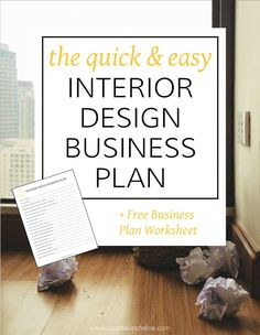 Exceptional Business Plans Shouldnu0027t Be Hard. This Quick And Easy Interior Design  Business Plan
