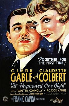 It Happened One Night (1934) - classic fave!!