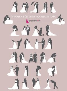 Poses for wedding pictures- Hochzeitsbilder Posen 28 examples of your poses for a wedding shoot. Romantic Wedding Photos, Wedding Poses, Wedding Shoot, Wedding Pictures, Party Wedding, Romantic Weddings, Wedding Ceremony, Wedding Icon, Wedding Beauty