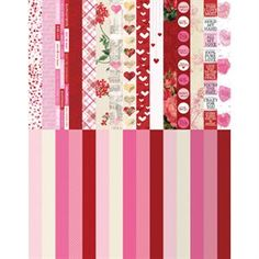POCKET LOVE Border Strips by Katie Pertiet are cut perfectly for fit Our Memories for Life Pocket Pages, but they work equally well on traditional scrapbook pages.  Pair them with the entire LOVE COLLECTION for even more layout options. $11 for a set of 30 designs.