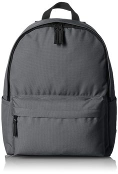 AmazonBasics Classic Backpack - Grey ** Read more  at the image link. (This is an Amazon Affiliate link and I receive a commission for the sales)