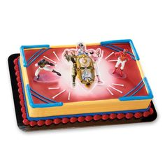 Decopac Power Rangers Mega Force DecoSet Cake Topper -- Read more at the image link. Power Ranger Party, Power Ranger Birthday, Cake Decorating Kits, Decorating Tools, Cake Supplies, Party Supplies, Power Ranger Cake Toppers, First Power Rangers, Cake Designs For Boy