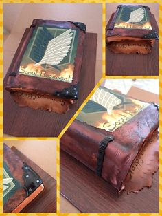 Attack on Titan cake! Gee Gee's Delights