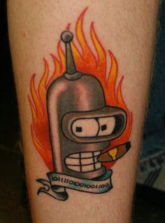 FUTURAMA Tattoos