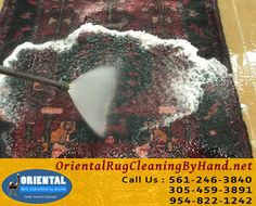 Rug Cleaning Service in Palm Beach Area  Area Rug Cleaning Palm Beach customers know it starts with a simple phone call, and it is when you are ready to having your rugs in your home restored and cleaned. Notice I say restored, because let's face it, not all of know that rugs should not only be vacuumed to keep clean.