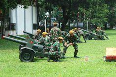 4 Anggota TNI Tewas dan 8 Terluka Saat Latihan Tembak Meriam - Kompas.com