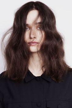 #waves #hair #brunette