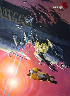 concept ships: MANCHU Monday: Terminus les Etoiles - The Stars my Destination