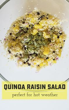 Refreshing Quinoa-Ra