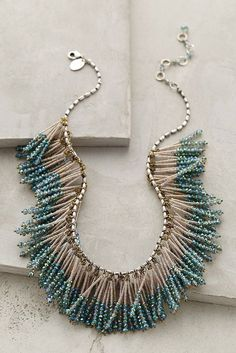 Our motto is go big or go home. These 24 pieces prove that they don't call it a statement necklace for nothin'.