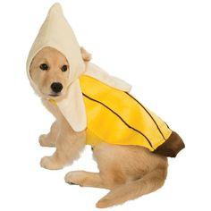 Banana Pet Costume Pet Halloween Fancy Dress #RubiesCostumeCoInc