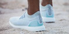 Adidas is releasing a new shoe that is made from plastic collected from the oceans.