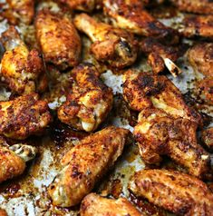 Oven Fried Crispy Chicken Wings An easy, cheap keto dinner recipe for Oven Fried Chicken Wings. Using a special tip, you get the taste of fried chicken without deep frying. Oven Fried Chicken Wings, Dry Rub Chicken Wings, Crispy Oven Baked Chicken, Crispy Baked Chicken Wings, Oven Baked Wings, Oven Wings, Wings In The Oven, Baking Wings In Oven, Motivation Quotes