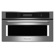 View the KitchenAid KMBP107E 27 Inch Wide 1.4 Cu. Ft. Built-In Microwave with Convection Cooking and Crispwave Technology at Build.com.