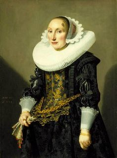 Portrait of Adriana van der Aa, Jan Daemen Cool, Purchased with funds from the State of North Carolina Renaissance Portraits, Renaissance Paintings, Renaissance Art, 17th Century Fashion, 17th Century Art, Memento Mori Art, Oil Portrait, Antique Clothing, Historical Costume