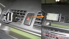 How to make a car mount for your iphone. Great for using the GPS safely.
