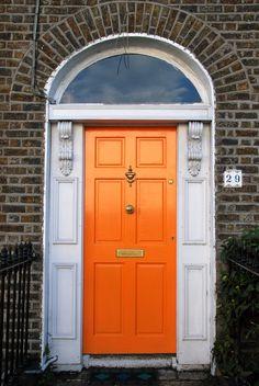 Eye-catching front door