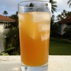 """Bill's Famous Mai Tai   """"It's a Hawaiian vacation in a glass. You can't help but feel on vacation as you sip this tropical rum-based concoction. Be careful-this drink has a kick!"""""""