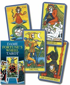 Dame Fortune's Wheel Tarot: Paul Huson, the author of Mystical Origins of the Tarot, has tracked down the true origins of tarot's esoteric symbols and images. Dame Fortune's Wheel Tarot is the companion deck to Huson's revered research into the mysteries of tarot. Bearing Etteilla and Marseille design and fully illustrated minor arcana, this classical deck promises a personal journey toward inner truths that will also enrich your understanding of tarot.  Boxed deck includes 79 full-color…