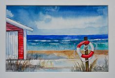 Coastal Landscapes (watercolors) on Behance 1 Watercolor Landscape, Painting & Drawing, Watercolors, Coastal, Landscapes, Behance, Fine Art, Drawings, Paisajes