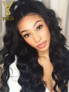 794636206 YSwigs 360 Lace Frontal Wig Pre Plucked With Baby Hair Brazilian Human Hair  HXQ233