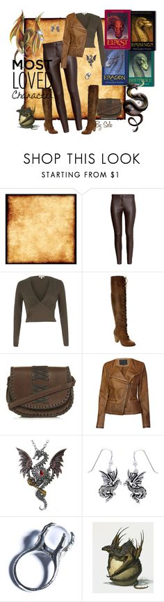"""""""Eragon - Most Loved Book Character"""" by selene-cinzia ❤ liked on Polyvore featuring River Island, Wild Diva, Topshop, Lavand., Carolina Glamour Collection, Kill Star and MostLovedCharacter"""