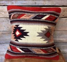 Pueblo Palace Southwest Wool Accent Pillow www.gugonline.com Price:$22.95