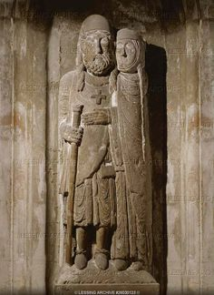 The crusader's return (end of 12th) From the Abbey of Belval, perhaps in commemoration of the return of Hugh I of Vaudemont (died in 1154)