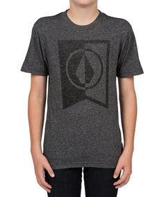 Loving this Heather Black Elite Tee - Toddler & Boys on #zulily! #zulilyfinds