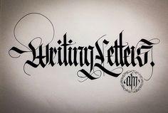 Fraktur Calligraphy Alphabet Best Of Calligraphy Fraktur Lettering On Behance - Calligraphy Inspiration Gothic Lettering, Graffiti Lettering Fonts, Tattoo Lettering Fonts, Lettering Styles, Typography Letters, Hand Lettering, Gothic Script, Chicano Lettering, Calligraphy Tutorial