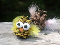 What an adorable craft idea.  Whoo wouldn't want to try this? ;)