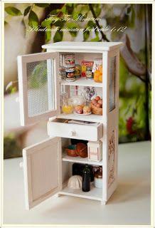 Kitchen cupboard - Tiny Ter Miniatures