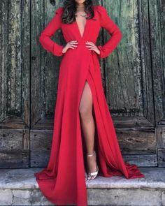 Swans Style is the top online fashion store for women. Shop sexy club dresses, jeans, shoes, bodysuits, skirts and more. Prom Dresses 2018, Event Dresses, Bridesmaid Dresses, Formal Dresses, Red Fashion, Party Fashion, Fashion Dresses, Mom Dress, Dress Up
