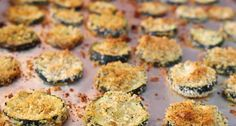 Greek Style Baked Zucchini Chips. Can change up the spices to make Italian style.