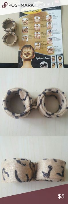 HAIRAGAMI bun tail as seen on TV Let me know if you have any questions or offers! Hairagami Accessories Hair Accessories