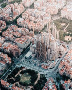 """Earth Pics on Twitter: """"Sagrada Familia from above 🙌 🌏 🇪🇸 https://t.co/zRg30lRXCM"""""""