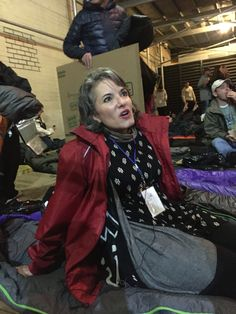 Interviewing Gail Grimmett, Senior Vice President, Delta Airlines. Delta was a key sponsor of the sleep out, with team members sleeping out in NYC, Atlanta, Los Angeles, snd St. Louis.