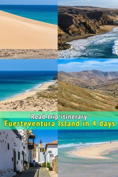 Fuerteventura Island has some of the best beaches in the Canary Islands. In this post you can find a detailed itinerary with an interactive map so you don't miss out on the best things to see and do in Fuerteventura, Spain. Fiji Travel, Spain Travel, Euro Travel, Beach Travel, Africa Travel, European Travel, Europe Travel Tips, Travel Destinations, Fuerteventura Island