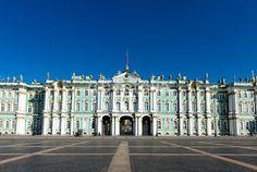 Winter Palace, Hermitage museum in Saint Petersburg, Russia