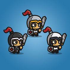 Tiny Style Character - Knight