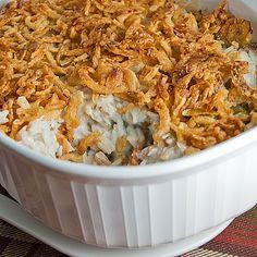 Turkey (or Chicken) and Green Bean Casserole - Real Mom Kitchen