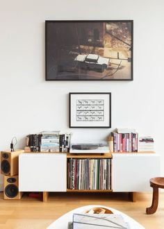 Stylishly Store and Display Your Record Collection: Our Best Advice | Apartment Therapy