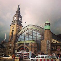 1. Hamburg Hauptbahnhof: Unser Startpunkt
