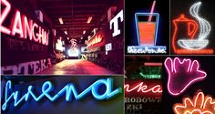 The Neon Muzeum - Collection. I now have a reason to visit Warsaw, Poland. #neon