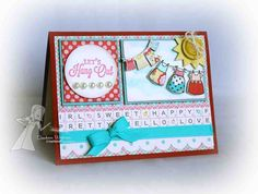 Let's Hang Out by sunnysankari - Cards and Paper Crafts at Splitcoaststampers