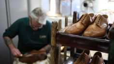 Making of Loake shoes