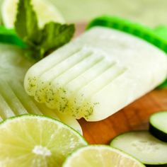Combining some of the freshest summer flavours, these cucumber lime mint popsicles are a light, refreshing treat.